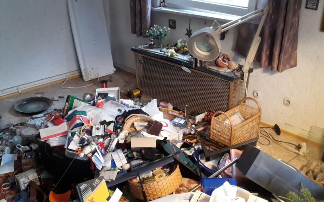 Räumung einer Wohnung in Bad Nauheim