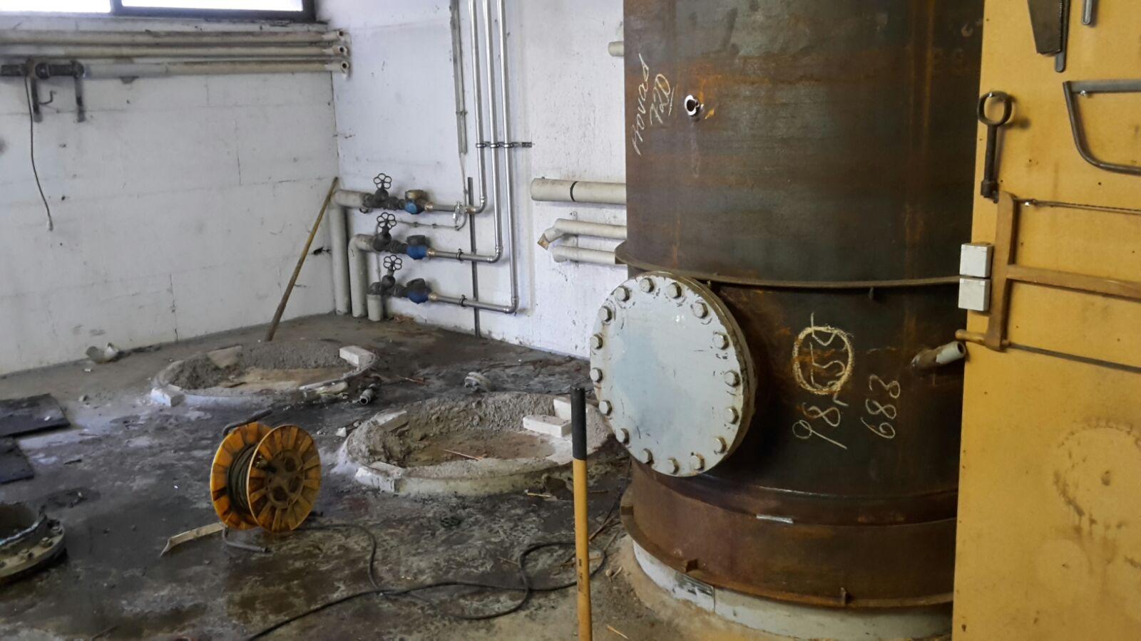 Demontage Warmwasserspeicher Bad Homburg