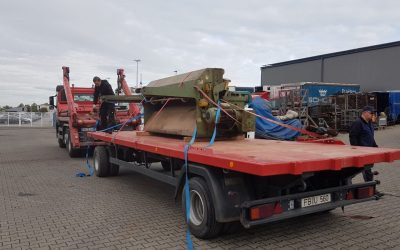 Maschinentransport von Mücke nach Hungen